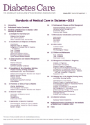 Standards of Medical Care in Diabetes - 2015