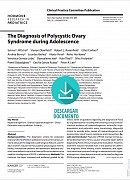 The Diagnosis of Polycystic Ovary Syndrome during Adolescence